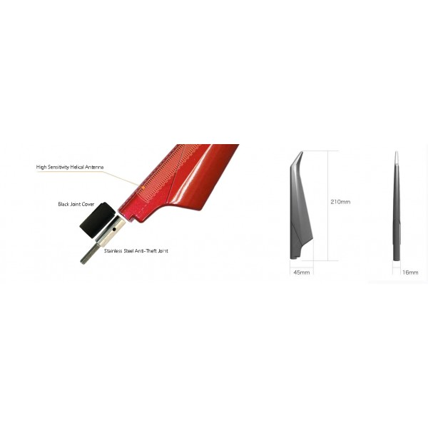 Blaid antenna for Toyota van and trucks