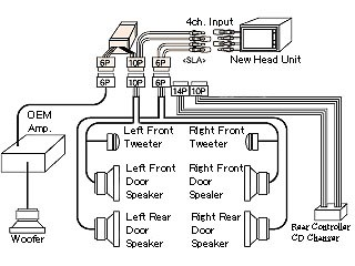 1996 lexus ls400 alternator wiring diagram schematic 1999 lexus ls400 navigation wiring diagram #2