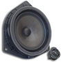 "Rear 6.5"" Woofer with Rear 1"" Soft Dome Tweeter"