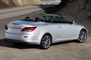 2010-2012 Lexus IS Convertible