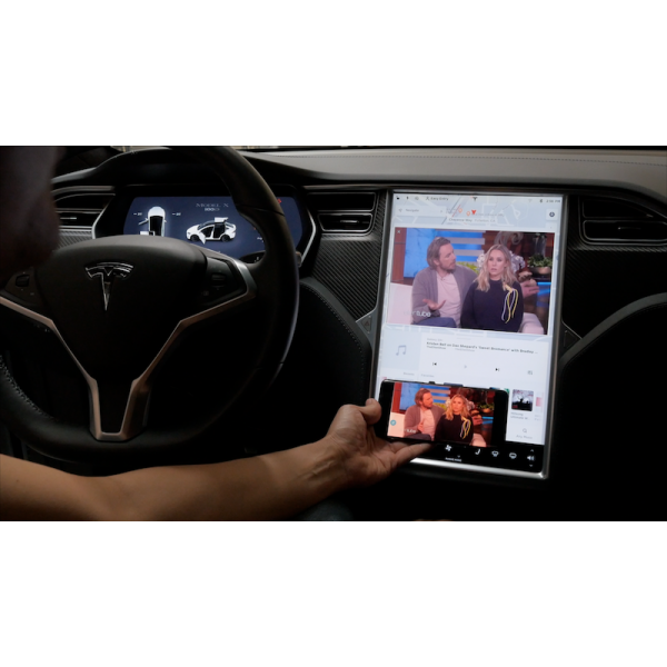 Tesla Model S and X Smartphone Mirroring Kit
